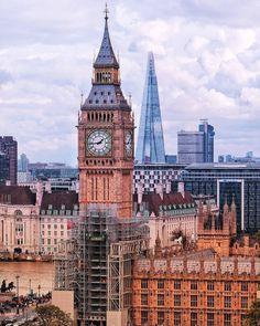 The Big Ben, Westminster. London.-