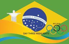 Rio Olympics 2016 Day-3 Medallists