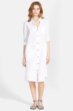 'The Long' Cotton Shirtdress
