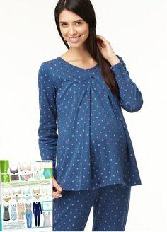 Starry Breastfeeding & Maternity Pyjamas
