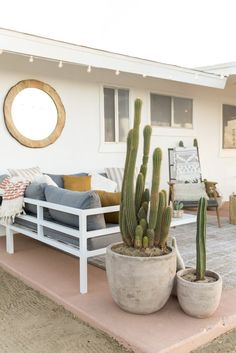DOMINO:This Designer Created a Bohemian Oasis in Joshua Tree