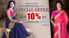 2015 diwali Festival Special Offer Discount of 10% on Designer party wear Sarees Collection Online Shopping at Paitraa.in  http://www.pavitraa.in/store/party-wear-saree/  #partywearsaree, #designersaree, #festivalsaree, #saree, #designerblouse, #onlinesaree, #emboiderysaree, #bollywoodsaree, #diwalifestivalsaree, #discountoffer, #wholesalesaree, #festivaloffer