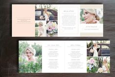Pricing Guide Photography Templates Photoshop Trifold Pricing Template for PhotographersPhotography marketing templates for modern pho by Design by Bittersweet Photography Price List, Photography Brochure, Wedding Photography Pricing, Photography Templates, Photography Marketing, Photoshop Photography, Photography Business, Photography Ideas, Digital Photography