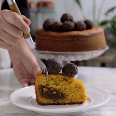 Make your carrot cake even yummier with brigadeiros, the beloved Brazilian chocolate treat.