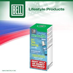 Bell Helps Stop Snoring Spray is no ordinary mix of herbal extracts. This mix of botanical extracts covers all angles of the snoring problem, giving you a total solution in one simple spray. Learn more about Bell Helps Stop Snoring Spray on our website today. http://www.belllifestyleproducts.com/22-stop-snoring-spray.htm
