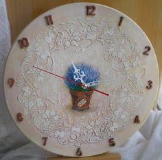 У Ольги: Часы  и вешалка-ключница