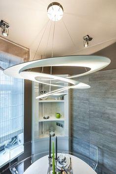 #Artemide #Pirce Bathtub, Ceiling Lights, Living Room, Mirror, Lighting, Interior, Furniture, Design, Home Decor