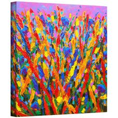Susi Franco 'Growing Wild' Gallery-wrapped Canvas Art