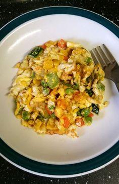 Veggie Eggs on SimpleToddlerRecipes.com