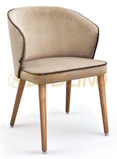 Bükkfa vázas kárpitos, retro szék - LS LODEN 33.800FT