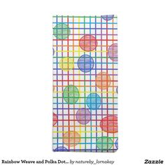 Rainbow Weave and Polka Dots Cloth Napkins http://www.zazzle.com/rainbow_weave_and_polka_dots_cloth_napkins-185973769178934636?CMPN=shareicon&lang=en&social=true&view=113411372922374107&rf=238588924226571373