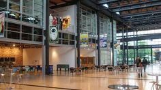 everyone in the pixar office passes through the atrium creating interaction #designingforcreativity