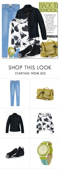 """""""Persun 2 - Back to school!"""" by mada-malureanu ❤ liked on Polyvore featuring Current/Elliott, Supra, Isaac Mizrahi, BackToSchool and persun"""