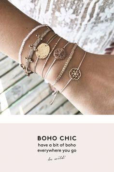 boho chic beige gold aussergewoehnlich schmuck online kaufen