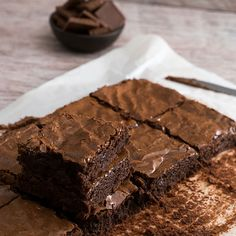 Best Ever Brownies {Quick & Easy} - Best Ever Brownies {Quick & Easy}