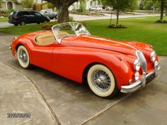 1955 Jaguar XK-140MC Roadster