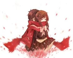 Ayano and Shintarou Anime: Mekakucity Actors