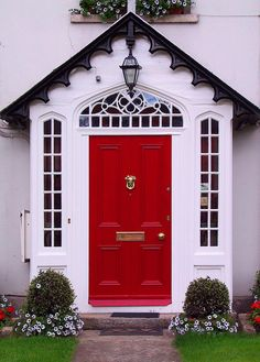 red door...miss mine...what frame work...awesome