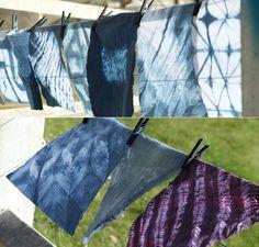 Shibori Dying technique by Ysabel de Maisonneuve : Equipement: Rubber boots and gloves Heat resistant basin Apron Dyes and salt ...