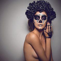 "10 tisuća oznaka ""sviđa mi se"", 184 komentara – ✖️ Jordan Liberty ✖️ (@jordanliberty) na Instagramu: "" D I A M O N D  Love seeing all your looks inspired by my Diamond Sugar Skull tutorial (channel…"""