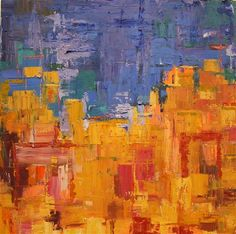 City Scape by Lana Williams | oil painting