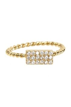 Beyond Rings Love's Company Pave CZ Ring