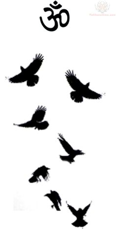 Image result for murder of crows tattoo