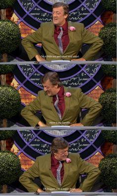 Stephen Fry is my favorite