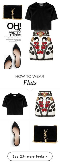 """Family Dinner"" by melaniemeran on Polyvore featuring Dolce&Gabbana, J.Crew and Yves Saint Laurent"