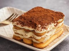 Italian Cookie Recipes 28695 In this version we will make a tiramisu with Swiss cookies, delicious with the taste of coffee and chocolate to make quickly at home. Italian Christmas Cookie Recipes, Italian Cookie Recipes, Italian Cookies, Italian Desserts, Easy Cookie Recipes, Ww Recipes, Muffin Recipes, Think Food, Love Food