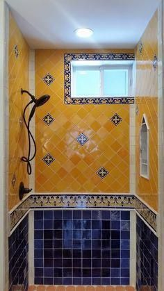 Spanish Style Homes Spanishstylehomes Spanish Style Bathrooms Shower Spanish Style Bathrooms Spanish Style Homes Bathroom Styling