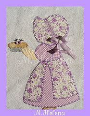 sunbonnet sue embellishment - Google Search
