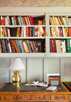 This Family of Five's Charming Home Office Does Triple Duty