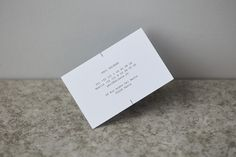 Brand identity and business card by Leeds-based graphic design studio Only for…