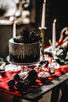 Gothic and Glamour Dark Luxe Inspiration