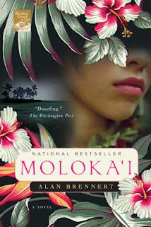 Moloka'i by Alan Brennert.  Great, epic novel of Hawaii at the beginning of 20th century.  Loved it.