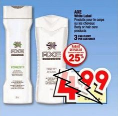 Coupons et Circulaires: 1.50$ Axe cheveux