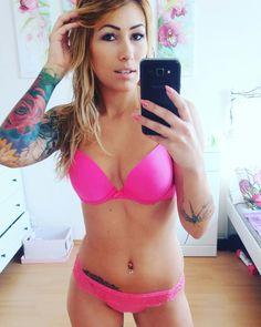 Lauren Quin Inked model tattoo