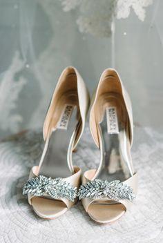 Lesbian blue heels