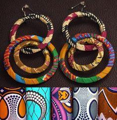 Afro accessories http://morgatta.wordpress.com/2014/08/07/afro-bijoux-dai-tessuti-alle-orecchie/