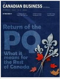 Featured columnist in the October 2012 issue of the Canadian Business Journal. Read my article on page 48: Social Media - Three People In Your Business That Shouldn't Be Doing It!  TopDogSocialMedia.com