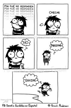 Anybody who's familiar with the comics of Sarah Andersen will know how perfectly they summarize the daily struggles of modern life, especially when it comes to Sarah Anderson Comics, Sara Anderson, Cute Comics, Funny Comics, Sarah's Scribbles, The Awkward Yeti, 4 Panel Life, Funny Jokes, Hilarious