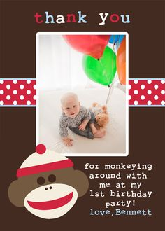 in my life: sock monkey birthday party...the details