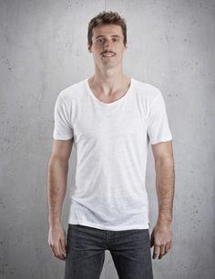 Leinen T-Shirt Basic Green Shirts Social Eco Wear