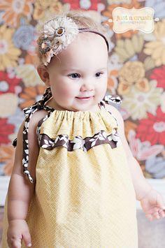 Girls Dress Pattern PDF Sewing Pattern, Girls, Baby, Toddler...The Eden Dress sizes 12m-8 girls and doll. $6.00, via Etsy.