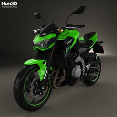 Kawasaki Z900 2017 3d Model From Hum3D