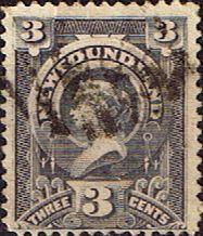 Newfoundland 1890 SG 55 Queen Victoria Fine Used Scott 60 Other North American…