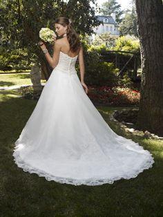 Beautiful Back/Siloutte - Casablanca Bridal