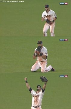 Angel's reaction to the final out of the NLCS Game 7. Now that's what's up!