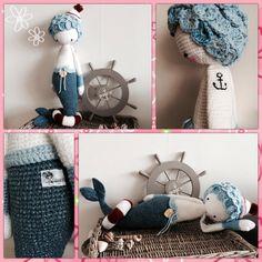 MICI the mermaid made by Sasja de B. / crochet pattern by lalylala